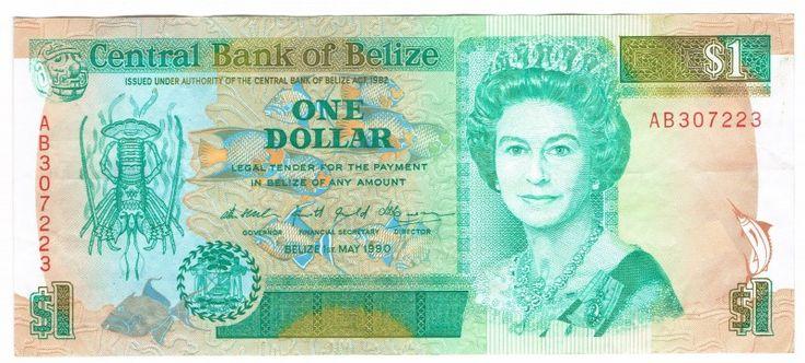 Belize 1 Dollars 1990