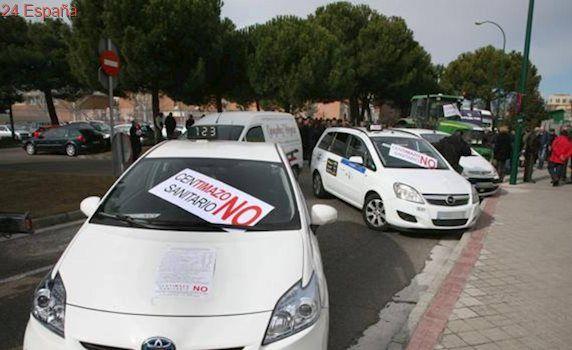 El 80% de los taxistas de Castilla y León secunda la huelga contra las plataformas Uber y Cabify