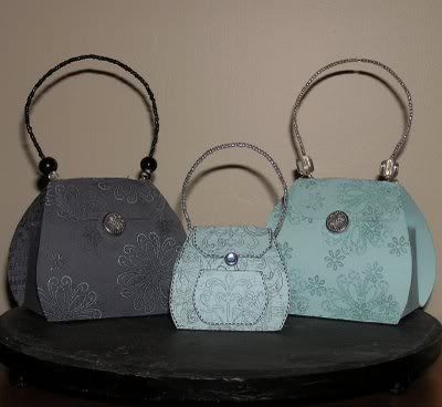 Sweet Little Handbag/Purse Boxes: Template & Printable Patterns - Splitcoaststampers
