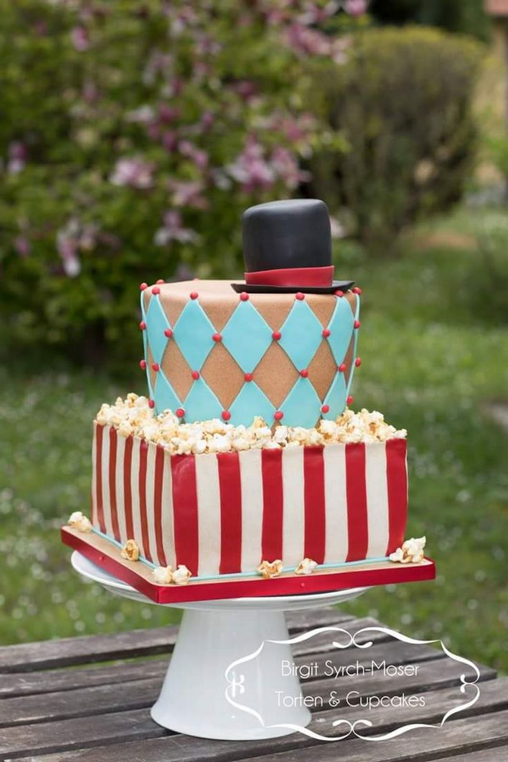 Circus Birthday Cake - Birgit Syrch-Moser - Google+