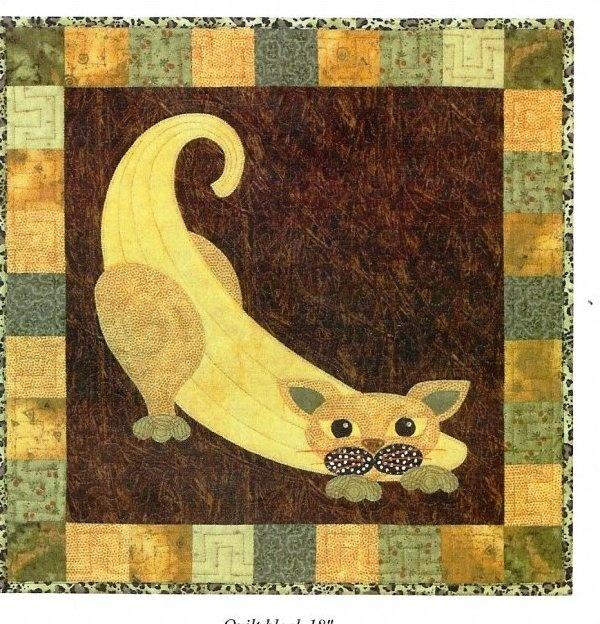 26 besten garden patch cats quilt Bilder auf Pinterest | Katzen ...