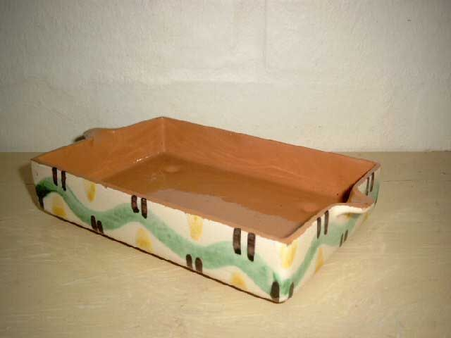 RAS karsebakke/cress tray. År/year 1940-50s. #RAS #karsebakke #cresstray #keramik #ceramics #pottery #danishdesign #nordicdesign #klitgaarden. SOLGT/SOLD from www.klitgaarden.net.