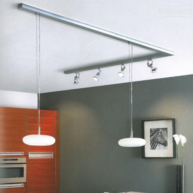 Licht  Schienensystem  Haus  Lampen schienensystem Beleuchtung kche und Schienensysteme