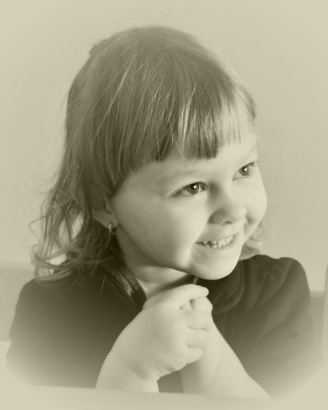 Mała dziewczynka - little girl...