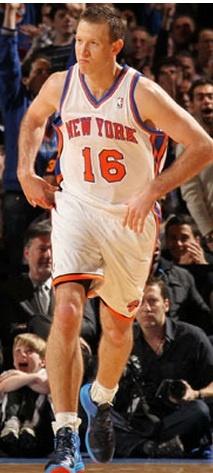 New York Knicks guard Steve Novak