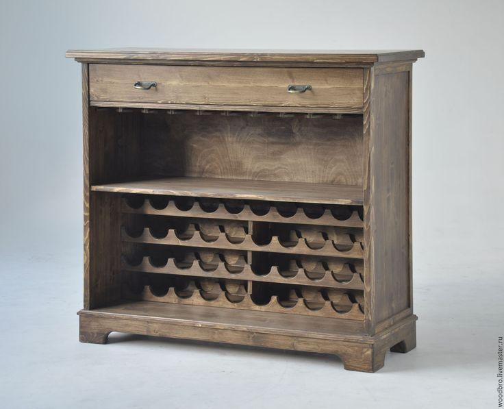 Купить Шкаф для вина и бокалов. - вино, винный, хранение вина, винный шкаф, шкаф…