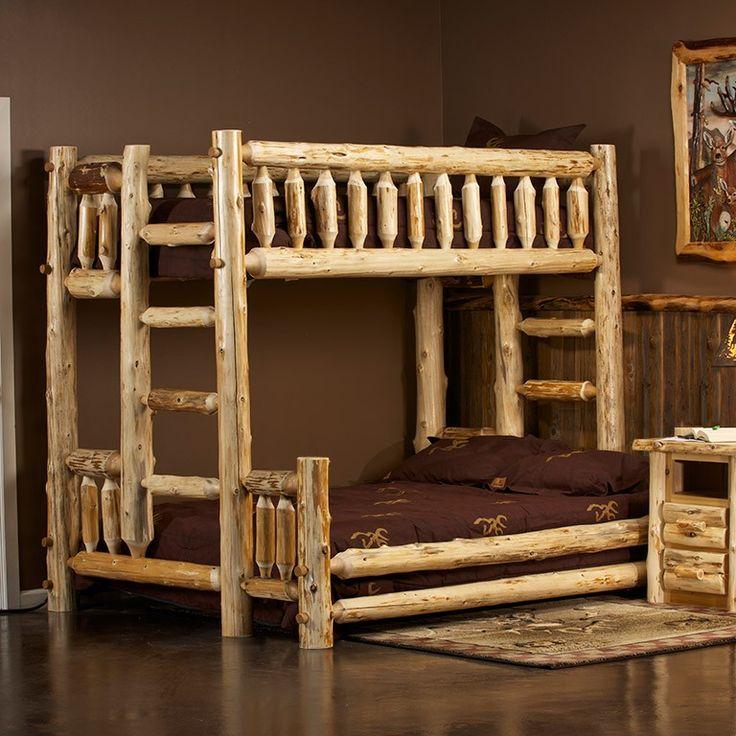 Queen Bunk Bed Log