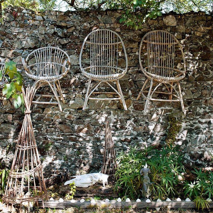 Un jardin poétique - Marie Claire Maison