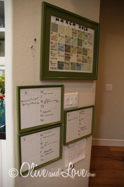 Family Calendar and Command Center