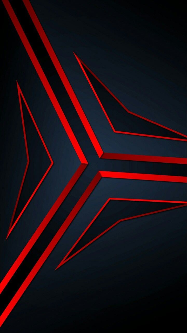 Fractal Structure Surface Red Wallpapers Samsung Wallpaper Red Wallpaper