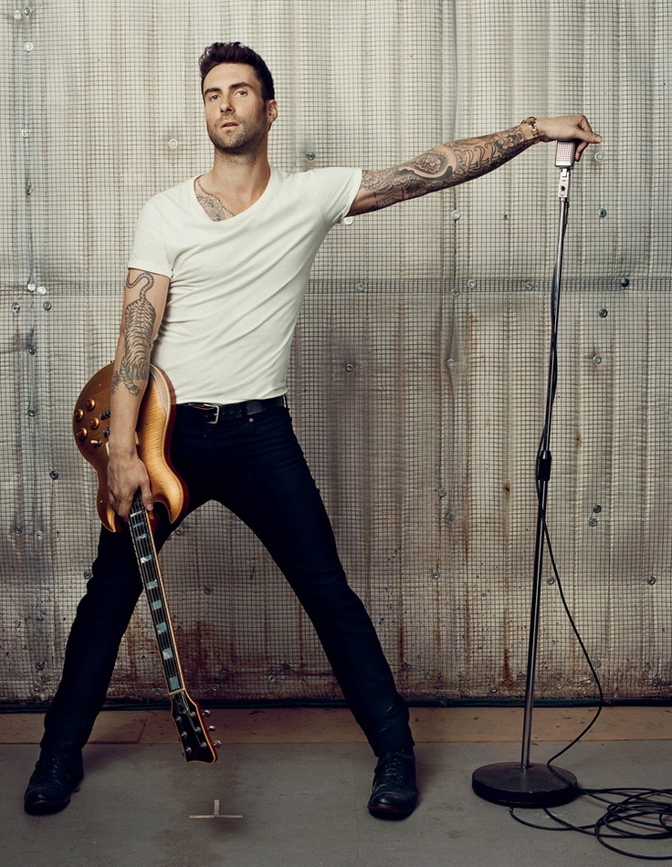 Adam Levine Rock on Brother from another mother LOL...<3