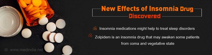 Health Tip on Effects of Insomnia Medication