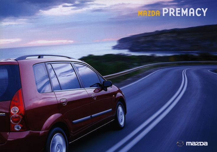 https://flic.kr/p/FibjEB | Mazda Premacy; 2002  (Australia) | car brochure by worldtravellib World Travel library
