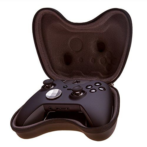 Snakebyte Controller: Case, Elite Controller, Xbox One  Travel-case for Xbox One and Xbox One Elite controller  Perfect fit and optimal protection  Handy carabiner to attach the pouch this a backpack  Protects your controller from damage during transportation or storage  Also fits for the Xbox360 controller
