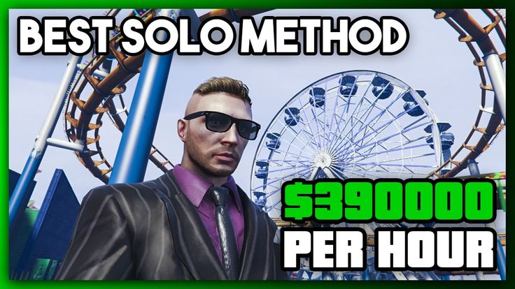awesome - The BEST Way to Make Money in GTA Online for SOLO Players | $390,000 Per Hour | #MoneyGuide