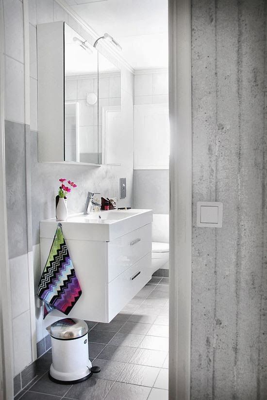 Best Badrum Images On Pinterest At Home Attic Bathroom And Bath - Missoni black and white bath mat for bathroom decorating ideas