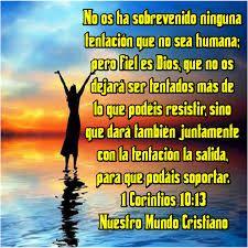 Resultado de imagen para 1 Corintios 10:13