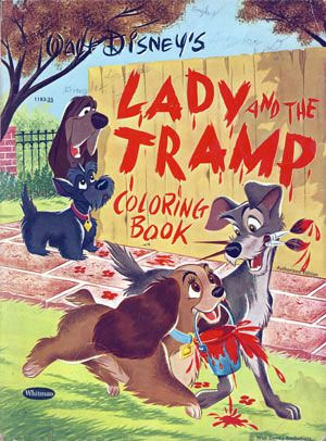 Lady And The Tramp Coloring Book