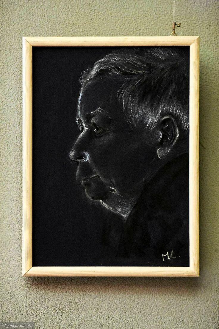 Zdjęcie numer 33 w galerii - Jarosław Kaczyński na 35 portretach. Kim są autorzy? [ZDJĘCIA]