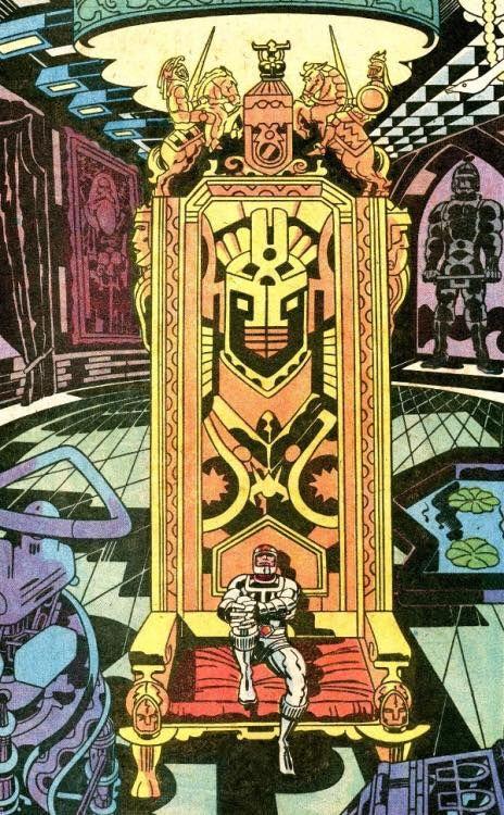 70s Sci-Fi Art: espantajerias: Kirby.