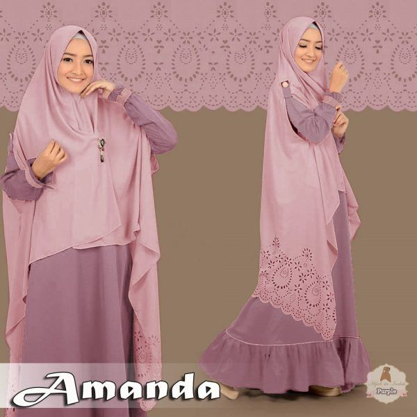 Baju Gamis Terbaru Amanda Syar'i Online - https://www.bajugamisku.com/baju-gamis-terbaru-amanda-syari