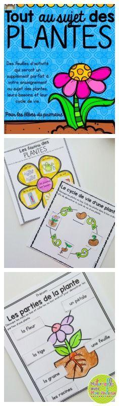 Apprenons tout au sujet des plantes (FRENCH Let's learn all about plants). Over…
