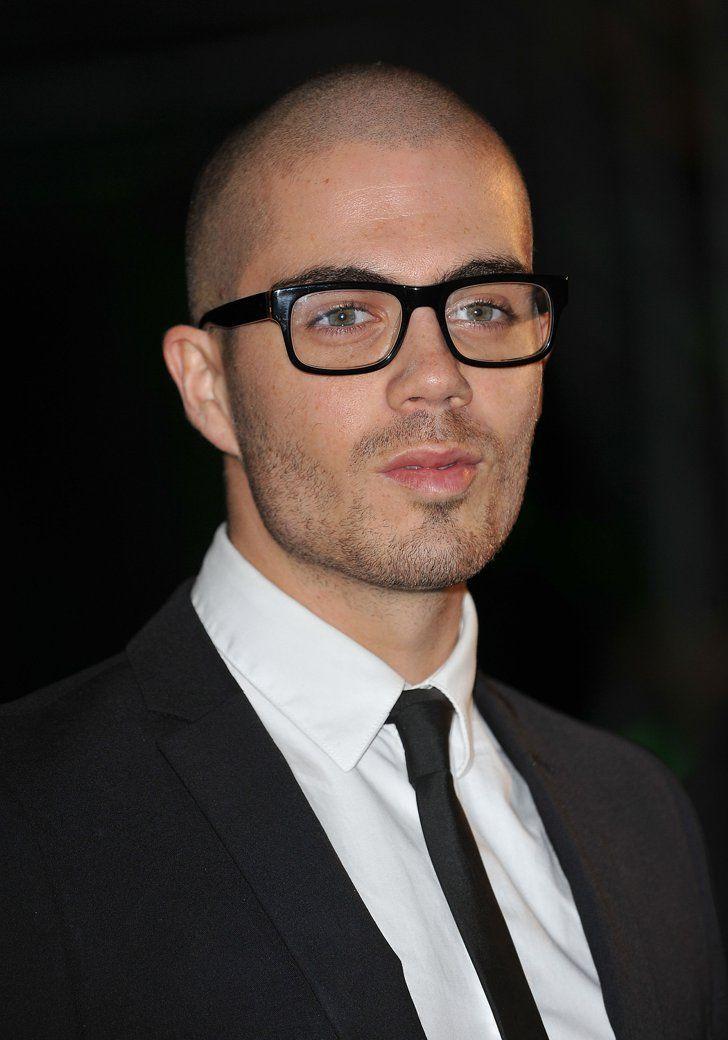 Brille für männer mit glatze