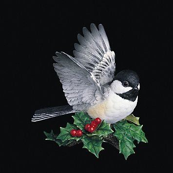 17 best images about animals birds chickadees on pinterest terry o 39 quinn wings and - Chickadee figurine ...