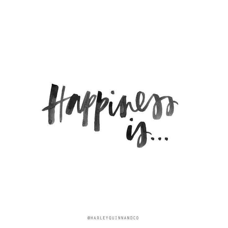 Happiness Is... // By Harley Quinn & Co.