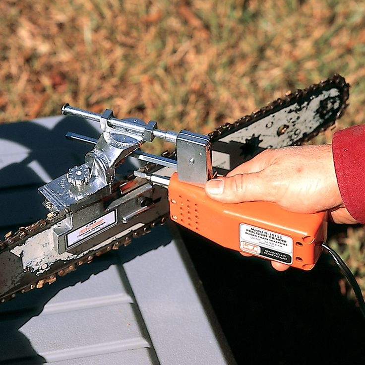 The best chainsaw sharpener out there!                                                                                                                                                                                 More