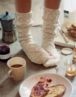 woolly socks