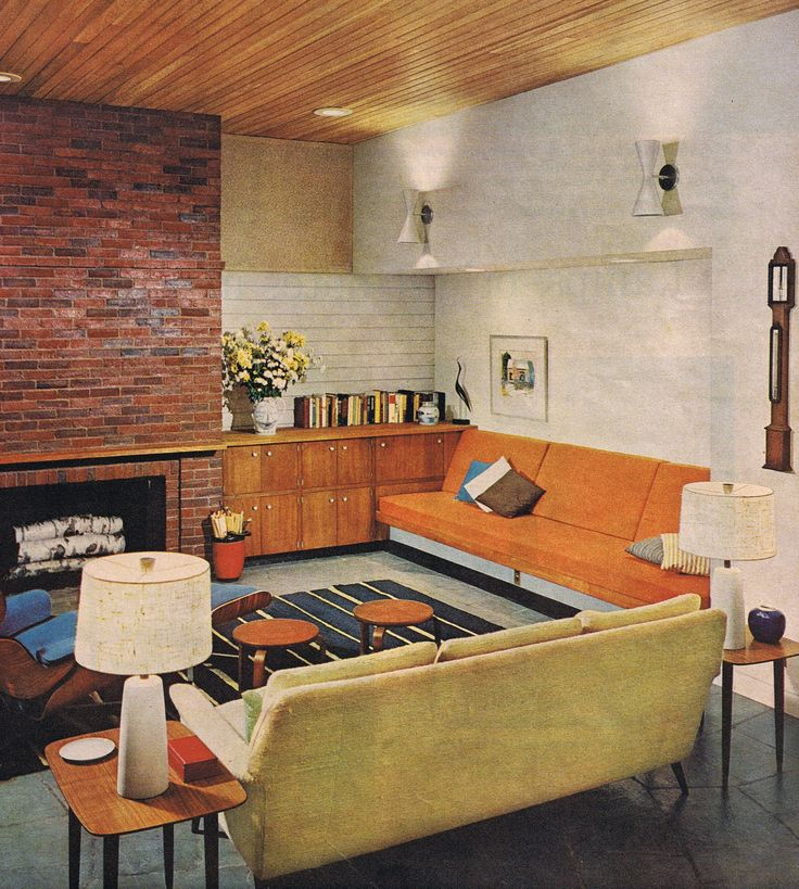 471 Best Images About Mid Century Homes On Pinterest