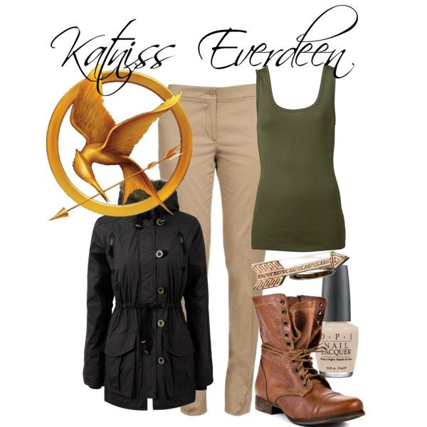 """Katniss Everdeen"" by fangirlfashion on Polyvore"