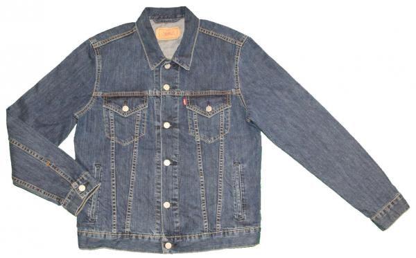 Veste jean levi's bleu stone pas cher | veste | homme