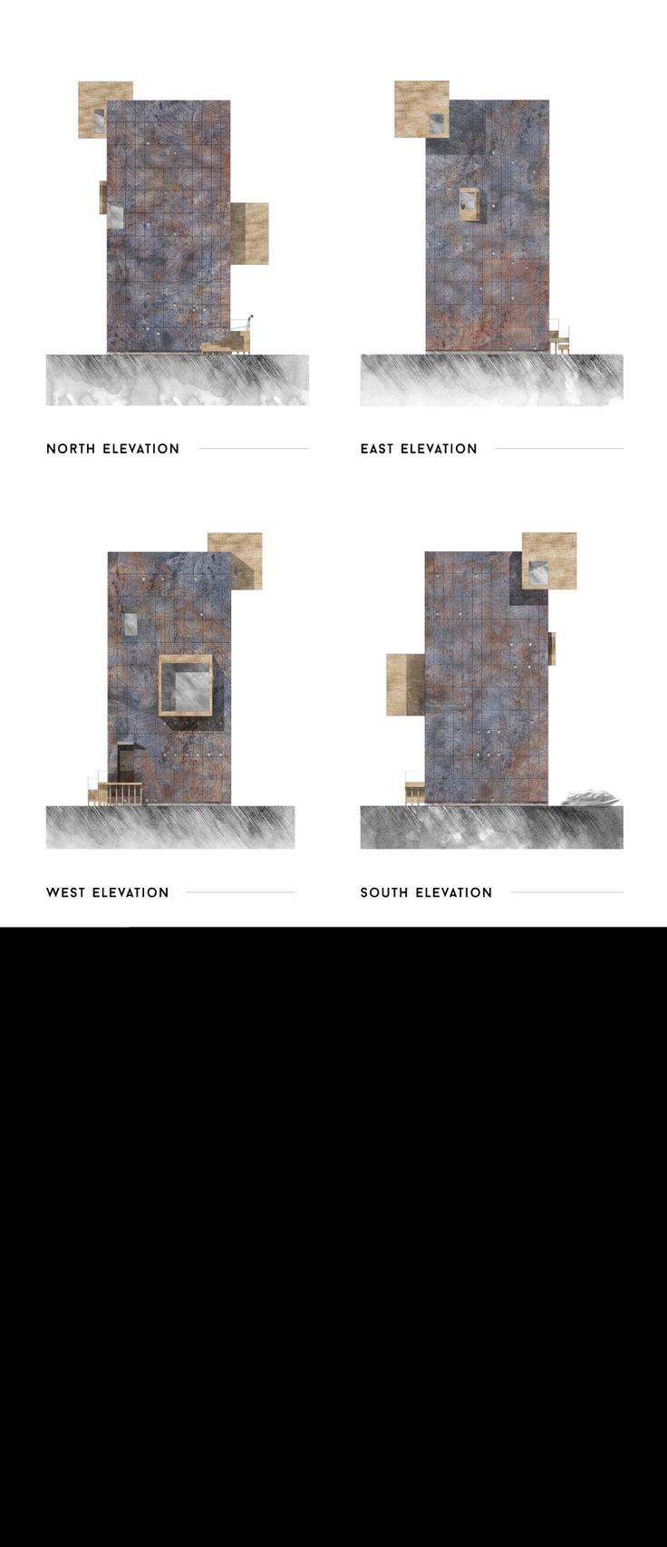 elevations + facade study