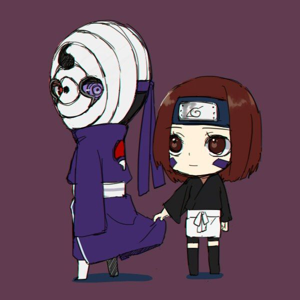 obito rin chibi pinterest dr who naruto and artists