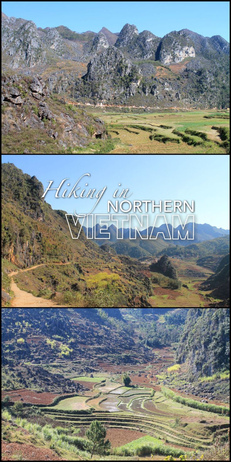Hiking in Dong Van, Ha Giang Province. This part of northern Vietnam is scenic and off the beaten path.