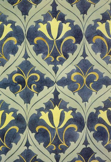 Carpet Design By C F A Voysey, Produced In 1890