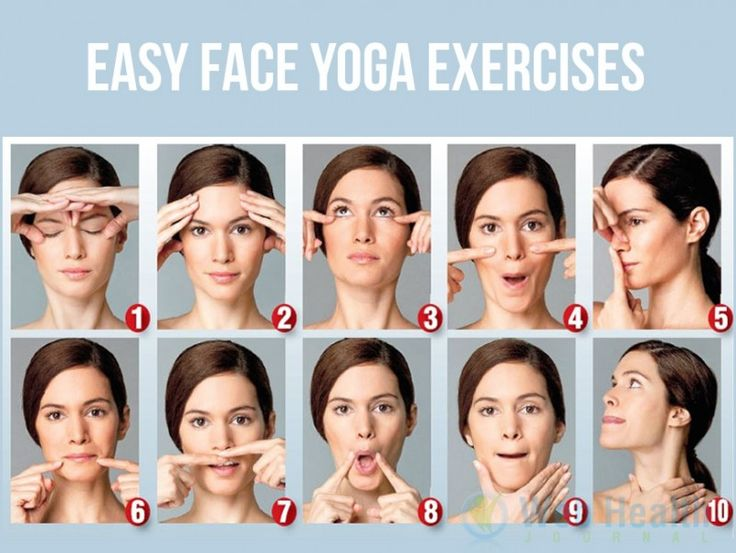 Easy Face Yoga Exercises to Reduce Face Fat