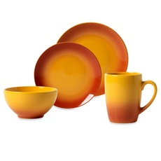 Tabletops Unlimited™ Ombre Orange Dinnerware - Bed Bath & Beyond
