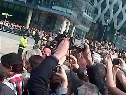Queen at MediaCityUK