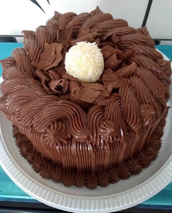 Cobertura De Chocolate Para Bolo De Aniversario Receita Com