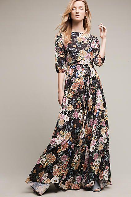 Floral Bridesmaids Dresses || Garden Grown Maxi Dress