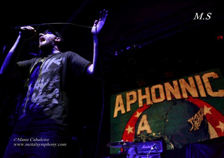 Aphonnic 1 Tenpel + Aphonnic + Catorce – 11 de Enero14 – Sala Arena (Madrid)