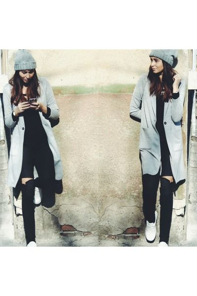 The gray coat