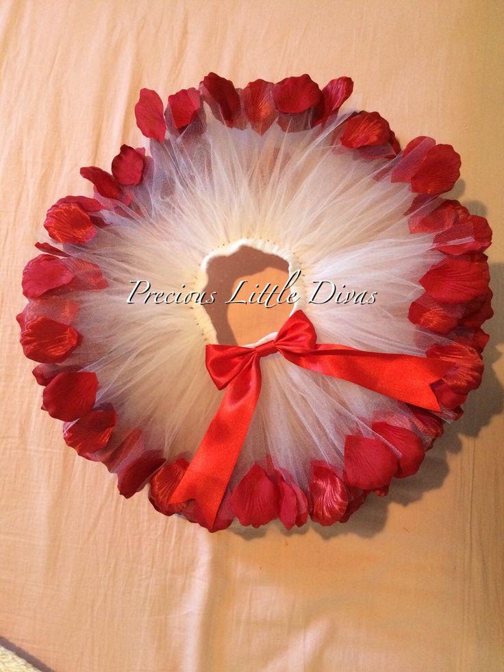 Valentine's Day Tutu/ Rose Petal Tutu/ Birthday Tutu/ Photo Prop/ Cake Smash Tutu/ Valentine Petal Tutu by PreciousLittleDivas on Etsy https://www.etsy.com/listing/217816192/valentines-day-tutu-rose-petal-tutu