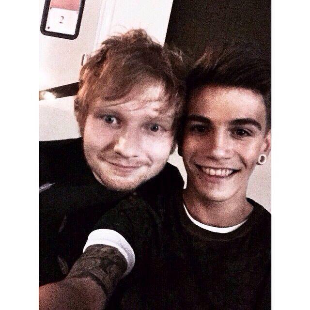 Jake and Ed Sheeran