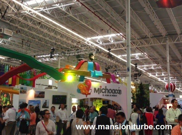 El Stand de Michoacán en el Tianguis Turístico de México 2014 en Cancun
