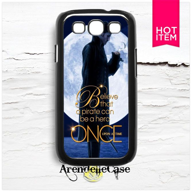 Once Upon A Timec Captain Hook Samsung Galaxy S3 Case