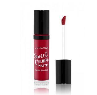 Jordana - Couleur pour les lèvres liquide Sweet Cream Matte- 11: Red Velvet Cake